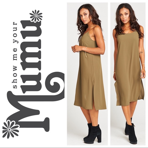 13c0805e7867 Show Me Your MuMu Dresses | Shiloh Slip Dress | Poshmark